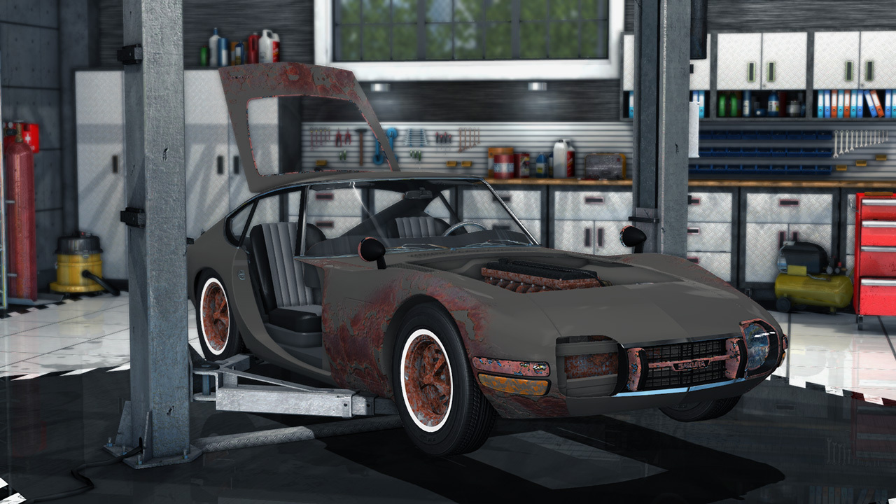 Car Mechanic Simulator 2014 Trainer Free Download