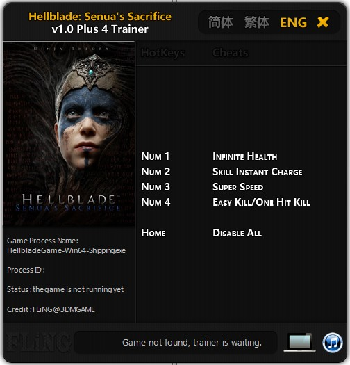 Hellblade Senuas Sacrifice Trainer Free Download