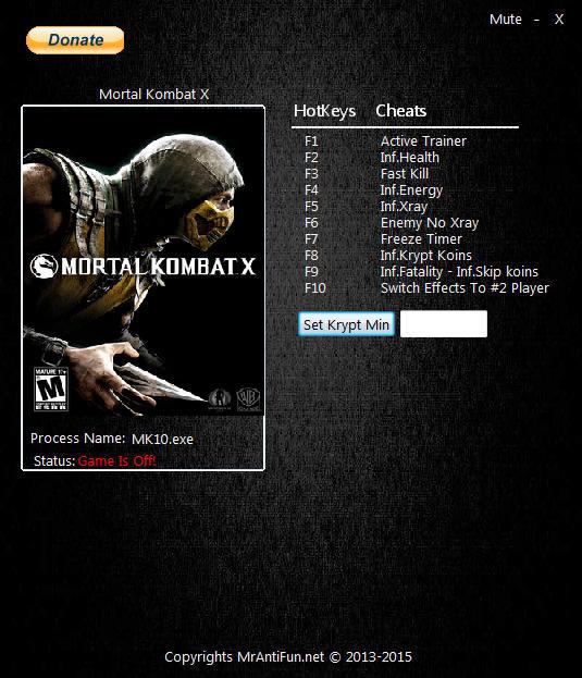 Mortal Kombat XL Trainer Free Download