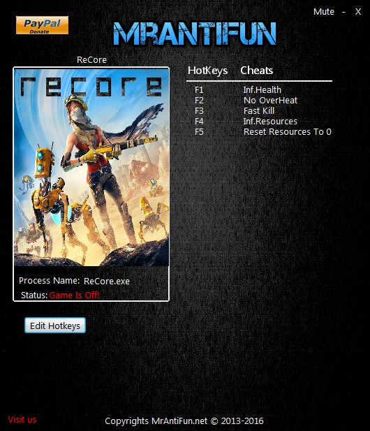 ReCore Trainer Free Download