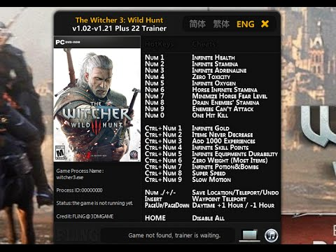 cheat engine the witcher 3