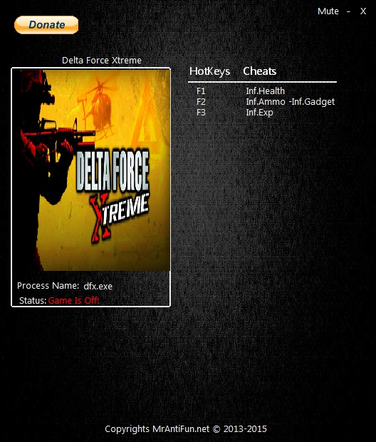 Delta Force Xtreme 2 Trainer Free Download