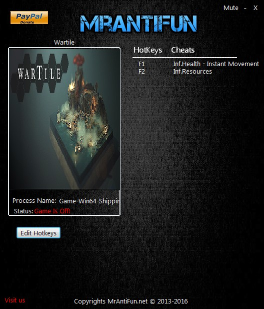 Wartile v1.1 Trainer Free Download