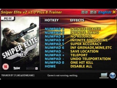 Sniper Elite V2 Trainer Free Download