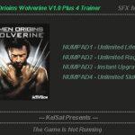 X Men Origins Wolverine Trainer Free Download