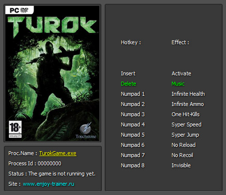Turok Trainer Free Download
