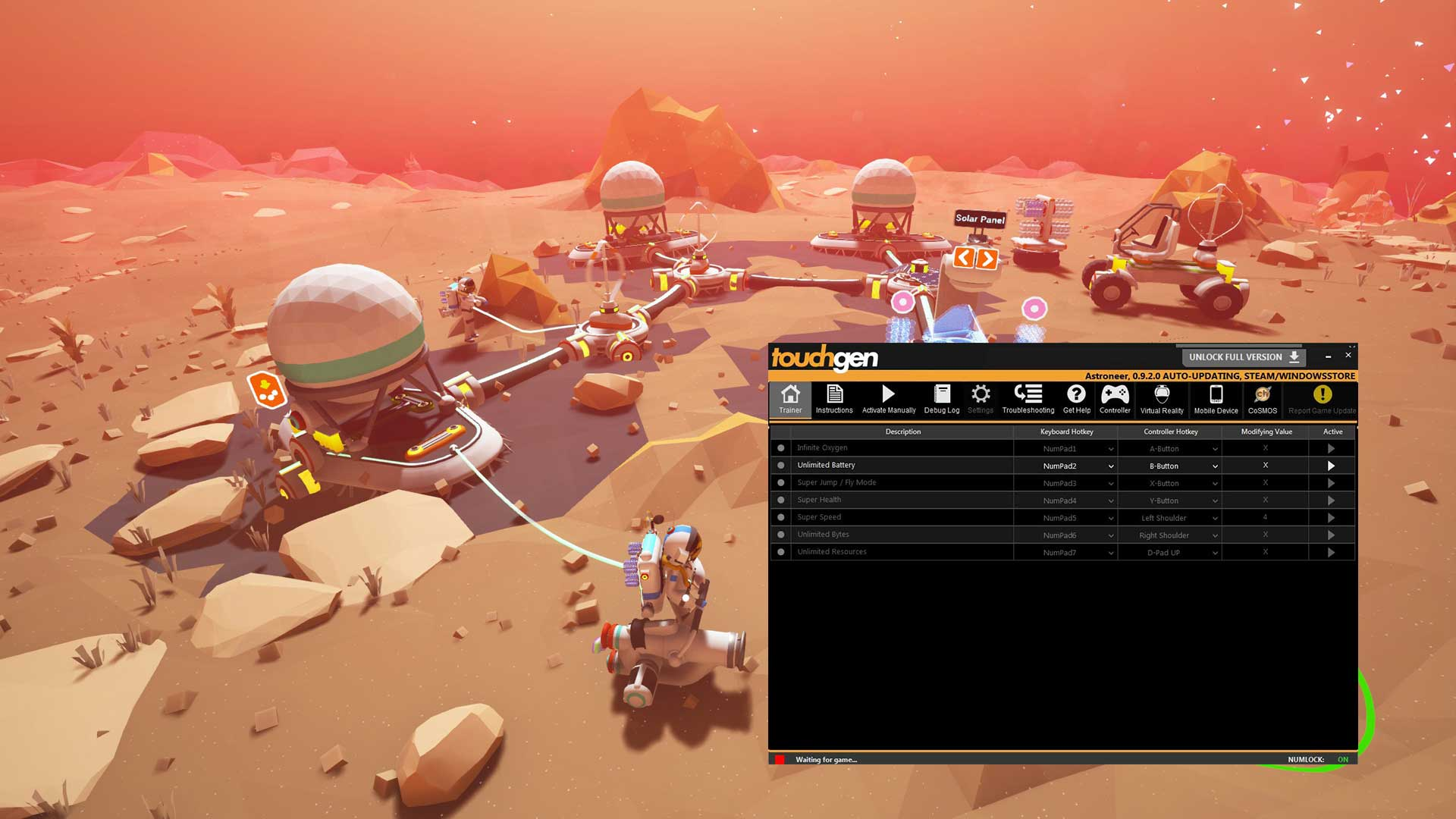 ASTRONEER Trainer Free Download