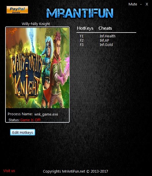 Willy Nilly Knight Trainer Free Download