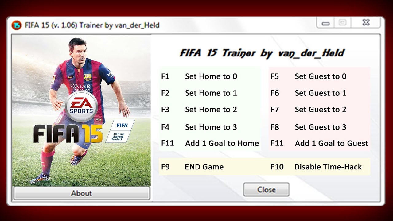 FIFA 15 Trainer Free Download